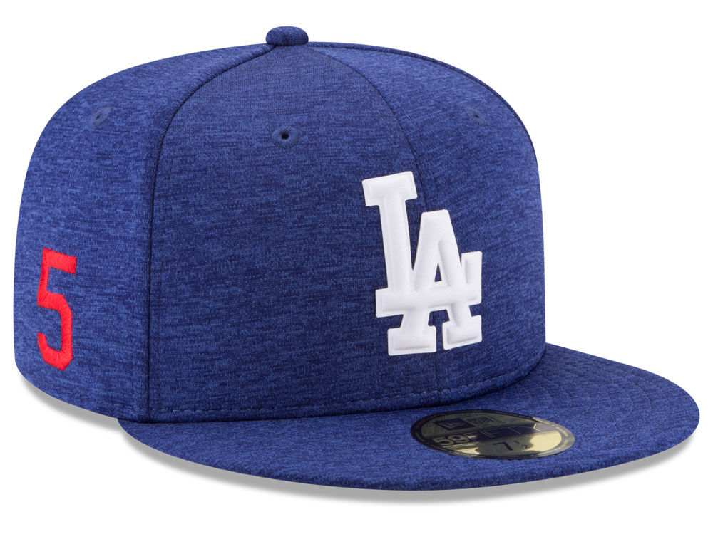 Los Angeles Dodgers Corey Seager New Era MLB Player Designed Collection  59FIFTY Cap  0af13a48067