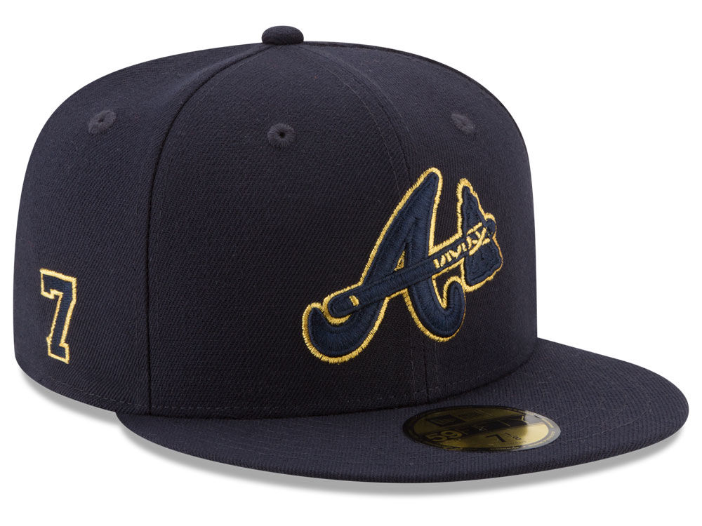 Atlanta Braves Dansby Swanson New Era MLB Player Designed Collection  59FIFTY Cap  7102147f19e4