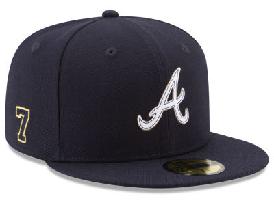 Atlanta Braves Dansby Swanson New Era MLB Player Designed Collection 59FIFTY Cap
