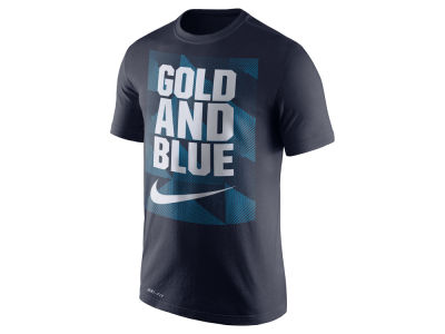 West Virginia Mountaineers Nike NCAA Men's Dri Fit Fluid Force Mantra T-Shirt