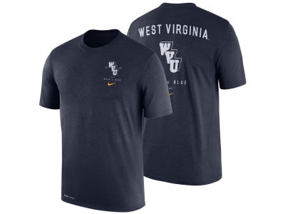 West Virginia Mountaineers Nike NCAA Men's Dri-Blend Vault T-Shirt