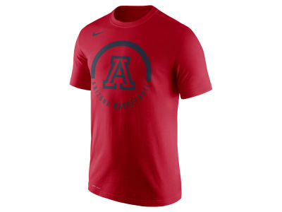 Arizona Wildcats Nike NCAA Men's Cotton Basketball Verbiage T-Shirt