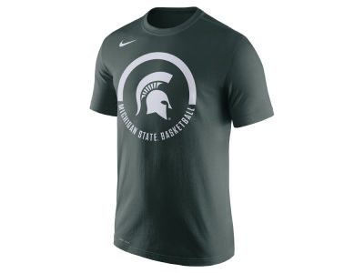 Michigan State Spartans Nike NCAA Men's Cotton Basketball Verbiage T-Shirt