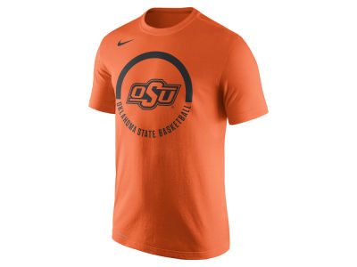 Oklahoma State Cowboys Nike NCAA Men's Cotton Basketball Verbiage T-Shirt