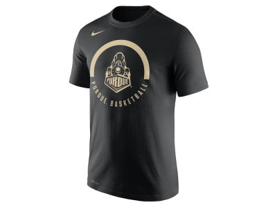 Purdue Boilermakers Nike NCAA Men's Cotton Basketball Verbiage T-Shirt