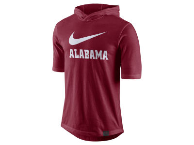 Alabama Crimson Tide Nike NCAA Men's Short Sleeve Hooded Shooter Shirt