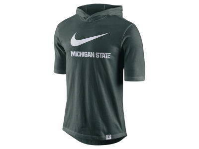 Michigan State Spartans Nike NCAA Men's Short Sleeve Hooded Shooter Shirt