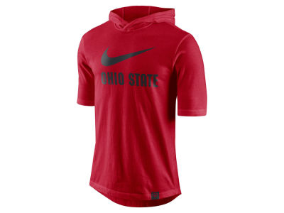 Ohio State Buckeyes Nike NCAA Men's Short Sleeve Hooded Shooter Shirt