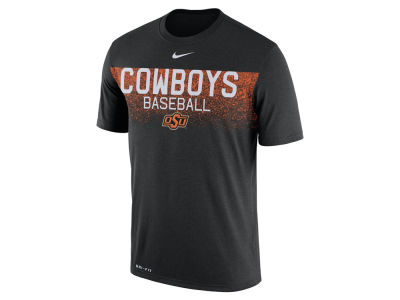 Oklahoma State Cowboys Nike NCAA Men's Team Issue Baseball T-Shirt