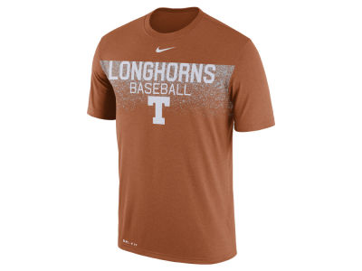 Texas Longhorns Nike NCAA Men's Team Issue Baseball T-Shirt