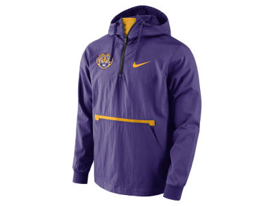 LSU Tigers Nike NCAA Men's Packable Woven Jacket