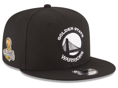 Golden State Warriors New Era 2017 NBA Warriors Finals Patch 9FIFTY Snapback Cap