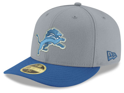 Detroit Lions New Era NFL Team Basic Low Profile 59FIFTY Cap