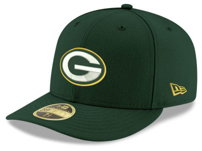 Green Bay Packers New Era NFL Team Basic Low Profile 59FIFTY Cap