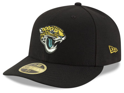 Jacksonville Jaguars New Era NFL Team Basic Low Profile 59FIFTY Cap