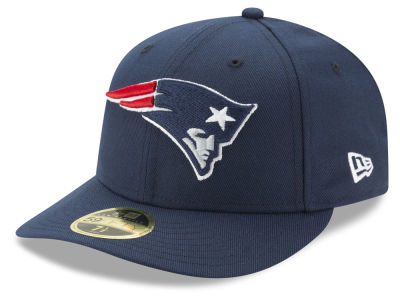 New England Patriots New Era NFL Team Basic Low Profile 59FIFTY Cap