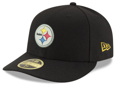 Pittsburgh Steelers New Era NFL Team Basic Low Profile 59FIFTY Cap