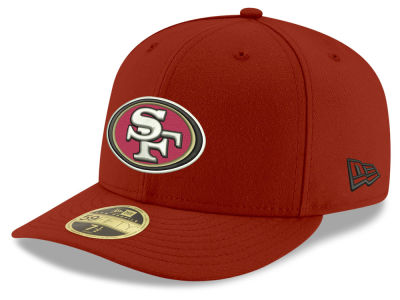 San Francisco 49ers New Era NFL Team Basic Low Profile 59FIFTY Cap