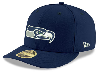 Seattle Seahawks New Era NFL Team Basic Low Profile 59FIFTY Cap