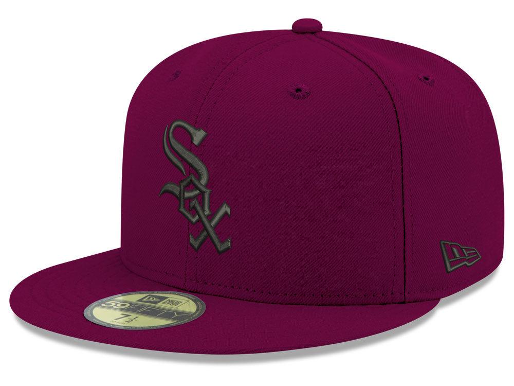 24ae5912882 Chicago White Sox New Era MLB Reverse C-Dub 59FIFTY Cap