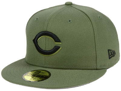 Cincinnati Reds New Era MLB Reverse C-Dub 59FIFTY Cap