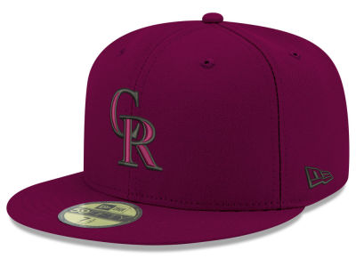 Colorado Rockies New Era MLB Reverse C-Dub 59FIFTY Cap