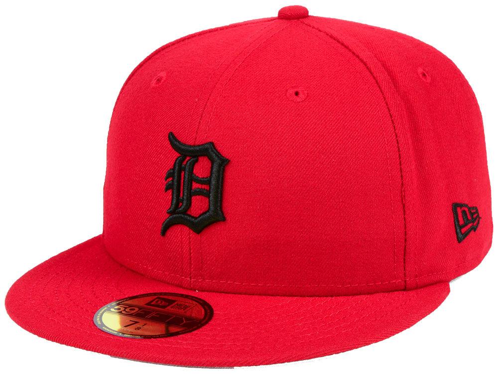 64ddfbb535c Detroit Tigers New Era MLB Reverse C-Dub 59FIFTY Cap