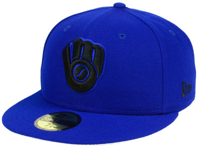 Milwaukee Brewers New Era MLB Reverse C-Dub 59FIFTY Cap