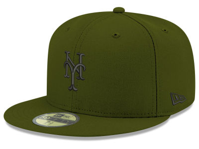 New York Mets New Era MLB Reverse C-Dub 59FIFTY Cap