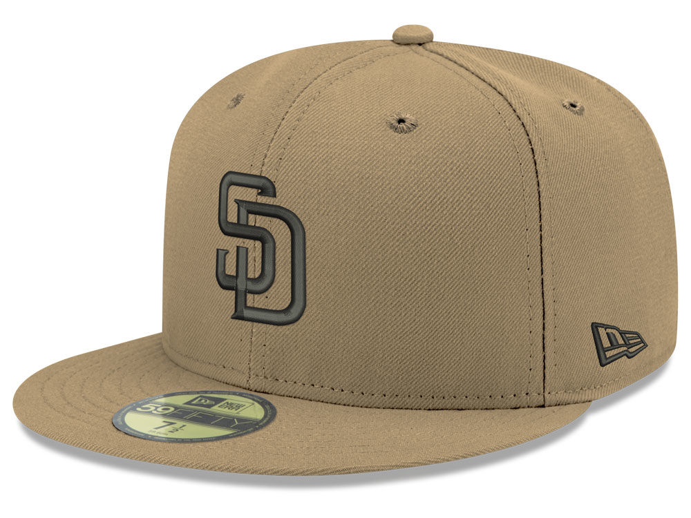 428680be61d San Diego Padres New Era MLB Reverse C-Dub 59FIFTY Cap