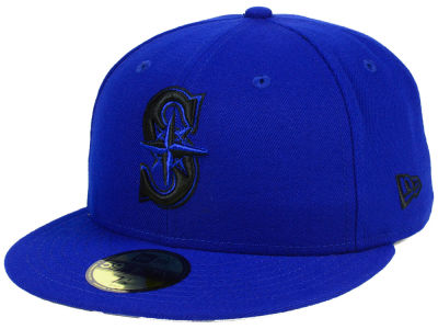Seattle Mariners New Era MLB Reverse C-Dub 59FIFTY Cap