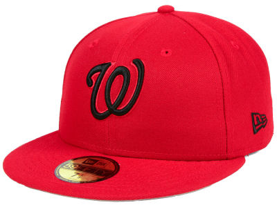 Washington Nationals New Era MLB Reverse C-Dub 59FIFTY Cap