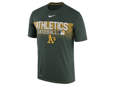 Oakland Athletics Nike MLB Men's Authentic Legend Team Issue T-shirt