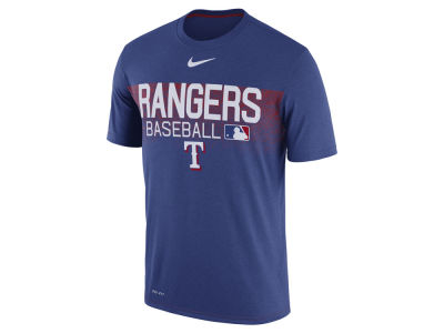 Texas Rangers Nike MLB Men's Authentic Legend Team Issue T-shirt