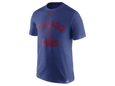 Chicago Cubs Nike MLB Men's Dri-Fit Slub Arch T-shirt