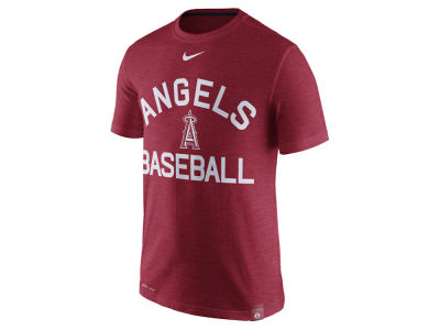 Los Angeles Angels Nike MLB Men's Dri-Fit Slub Arch T-shirt