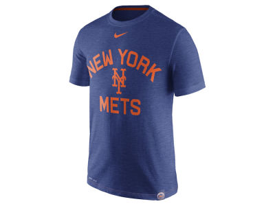 New York Mets MLB Men's Dri-Fit Slub Arch T-shirt