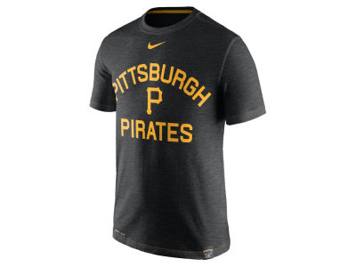 Pittsburgh Pirates Nike MLB Men's Dri-Fit Slub Arch T-shirt