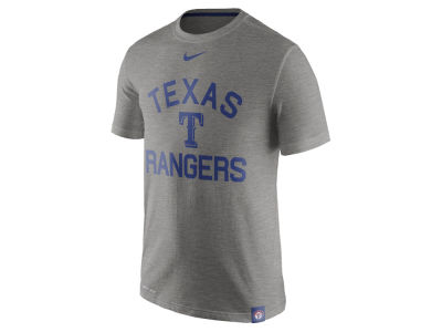 Texas Rangers Nike MLB Men's Dri-Fit Slub Arch T-shirt