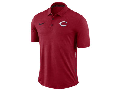 Cincinnati Reds MLB Men's Dri-Fit Breathe Touch Polo