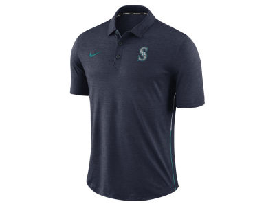 Seattle Mariners Nike MLB Men's Dri-Fit Breathe Touch Polo