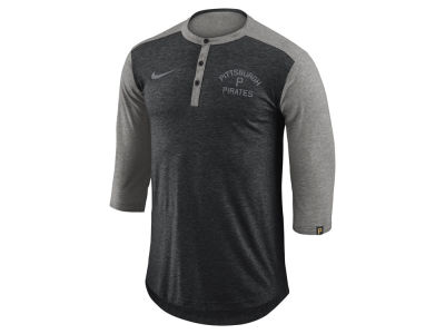 Pittsburgh Pirates Nike MLB Men's Dry Top Henley T-shirt