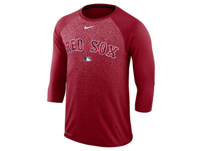 Boston Red Sox Nike MLB Men's Cross-Dye Raglan T-shirt