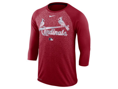 St. Louis Cardinals MLB Men's Cross-Dye Raglan T-shirt
