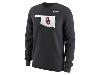 Oklahoma Sooners Nike NCAA Men's Alternate Logo Long Sleeve T-Shirt