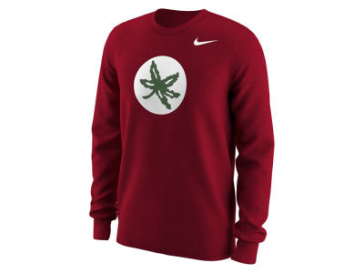Ohio State Buckeyes Nike NCAA Men's Alternate Logo Long Sleeve T-Shirt
