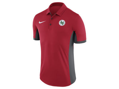 Ohio State Buckeyes Nike NCAA Men's Alternate Logo Evergreen Polo