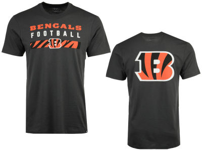Cincinnati Bengals '47 NFL Men's Cover 4 Super Rival T-Shirt