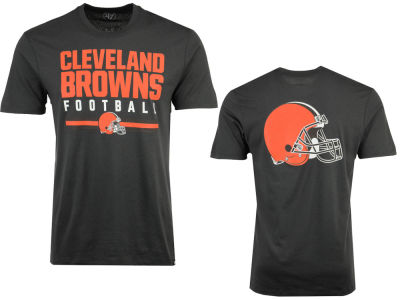 Cleveland Browns '47 NFL Men's Cover 4 Super Rival T-Shirt