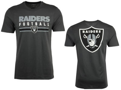 Oakland Raiders '47 NFL Men's Cover 4 Super Rival T-Shirt